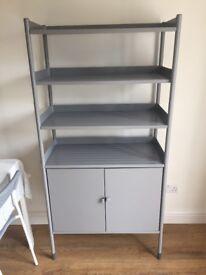 Cabinet/Display Unit IKEA metal grey BRAND NEW