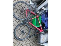 Carerra Vulcan mountain bike nice frame spares repairs