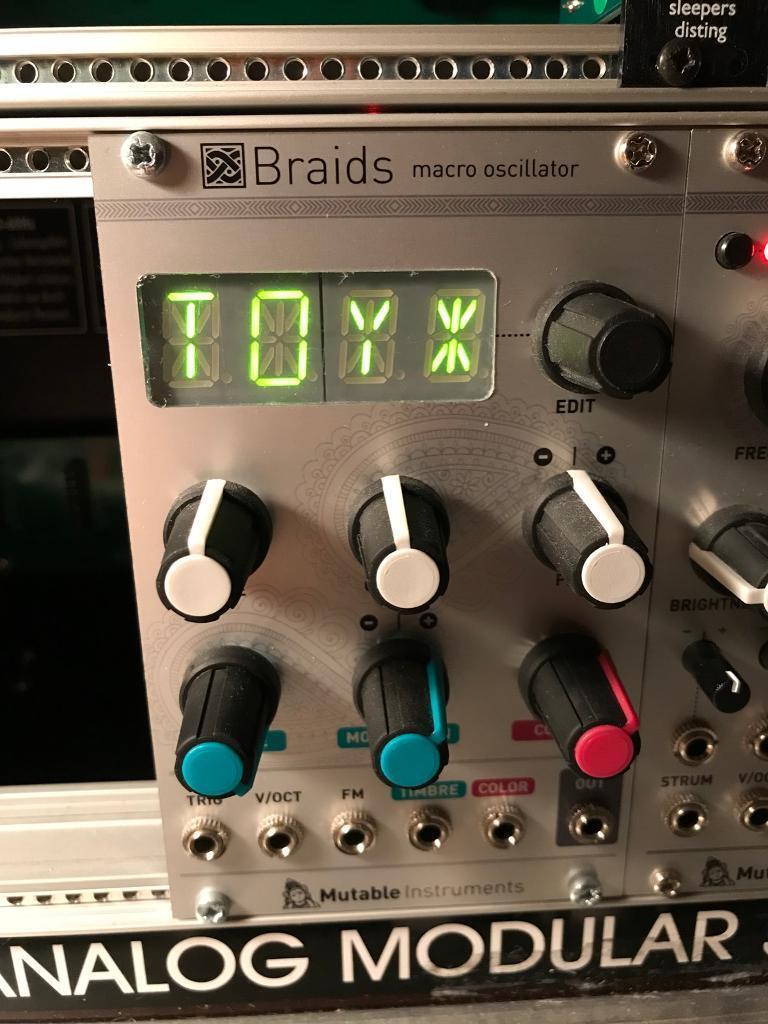 Mutable Instruments Braids