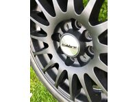 Alloy Wheels 15inch Brand new with tyres
