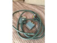 Original Xbox 360 cable. Av lead and scart