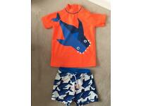 Next Boys Sunsuit Age 5-6 Years NEW