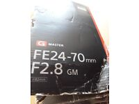 G MASTER Fe24-70MM F2.8 GM CAMERA LENS (READ NOTES BELOW)