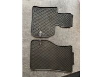 Branded All Weather Mini Countryman Rubber Mats