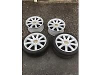Vw/Audi 18 inch alloys