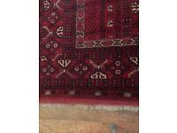 Afghan rug hand made