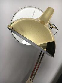 Modern Gold standing lamp (Brand new)