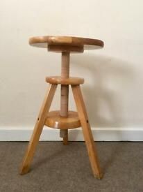 Artist / photography / pottery stool
