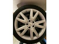 W218/X218 Mercedes CLS Winter Tyre and Alloy Set
