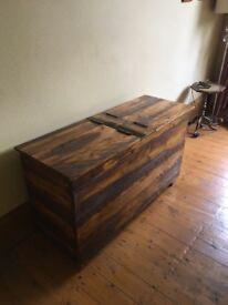 Storage Chest - Handmade - Wooden - Perfect Condition