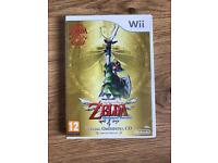 Zelda Skyward Sword w/ Special Orchestra CD. Limited Edition for Nintendo Wii