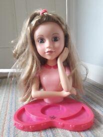 Chad Valley DesignaFriend Styling Head Doll