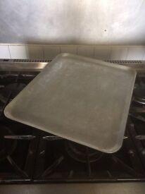 14 x Large Flat Baking Trays