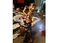 Bucking bronco woody from toy story