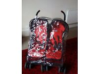 Chicco twin stroller *good condition*