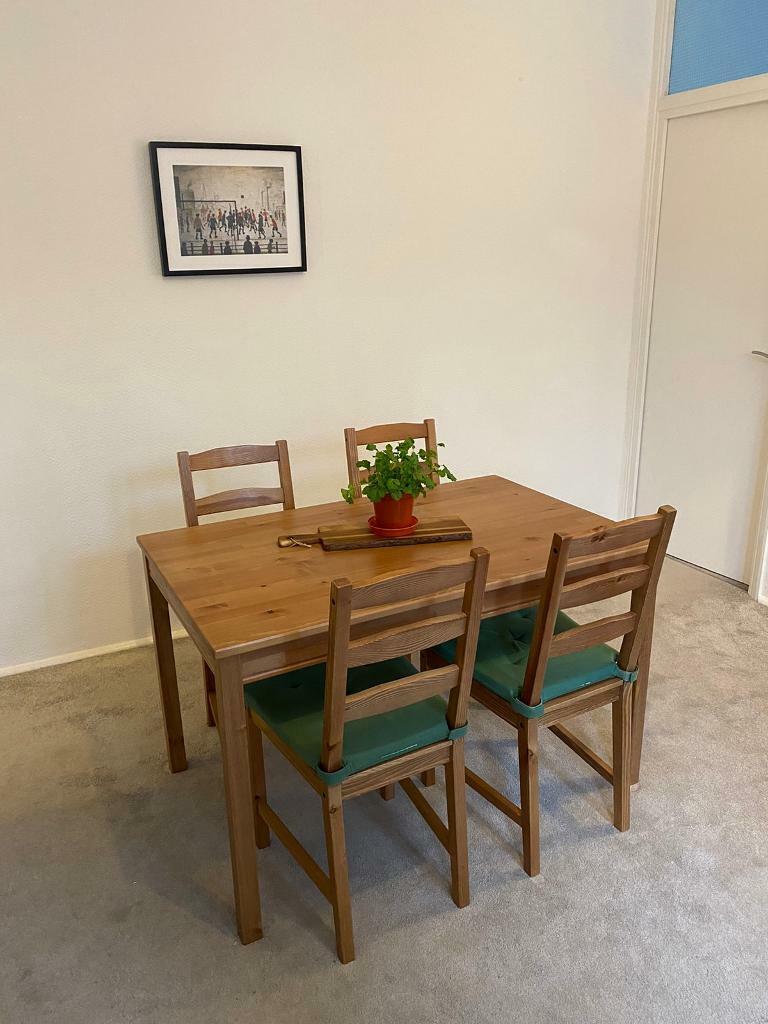 Dining Table Chairs Set Ikea Jokkmokk In Earls Court London Gumtree