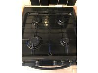Bush AD66TB gas cooker, electric oven and separate electric grill