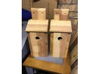Bird boxes , very good quality