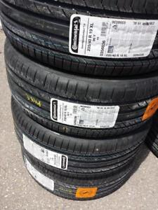 BRAND NEW WITH LABELS CONTINENTAL ULTRA HIGH PERFORMANCE ' Y' RATED 235 / 40 / 19 TIRES.
