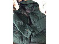 Ladies Green Coat