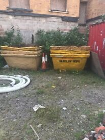 multiple skips for sale, various sizes