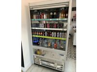 Shop Multi Deck fridge, cafe, restaurant display fridge