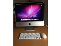 """Apple iMac 20"""" screen with mouse & keyboard good condition"""