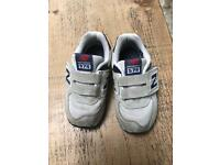 New balance boys trainers size 6