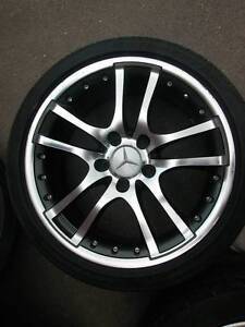 FULL SET Mercedes E-Series Rims and Tyres Villawood Bankstown Area Preview