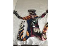 Kids Clown Morphsuit. In immaculate condition.