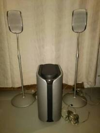 Sony Surround Sound Speakers Sub Woofer and Tweeters
