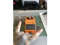 *** BOSS DS-1 DISTORTION EFFECTS PEDAL ***
