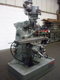 BRIDGEPORT MODEL BR2J2 SERIES 1 TURRET MILLING MACHINE