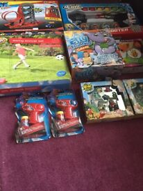 Large bundle of toys all new in boxes