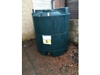 heating oil tank titan 1300 litres