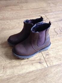 Debenhams brown boys boots