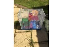 Hamster cage for sale, collection only. £15