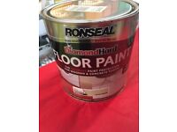 Floor non slip paint