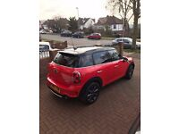 MINI COUNTRYMAN 2012! RED URGENT NEED TO SELL!