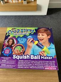 Crazslimy creations squish ball maker