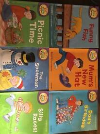 Biff,Chip and Kipper books