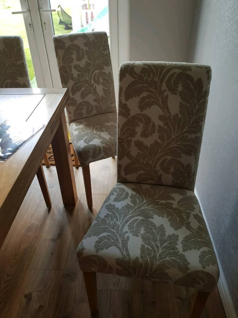 Dining chairs oak furnitue land