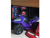 Battery operated Quad bike for toddlers