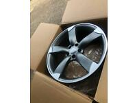 """4 x BRAND NEW 19"""" AUDI RS SLINE WHEELS STYLE ALLOYS A3 A4 A5 A6 S3 S4 S5 S6 RS3 RS4 RS5 TTRS"""