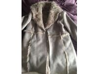 Sheepskin fur jacket