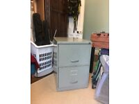 Triumph Metal Filing Cabinet - 2 Drawer and New Pack x 50 Impega Suspension Files