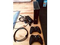 X BOX 360 With Kinect, games, 2controllers, games and more