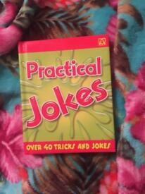 Practical jokes book