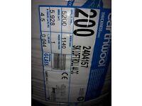 200mm loft insulation