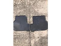 Genuine Vw golf mk6 rear rubber mats